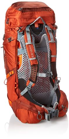The Osprey Atmos AG™ 50 features Osprey's Anti-Gravity™ suspension system for quick drying ventilation and all-day comfort. This pack is well suited for weekend excursions or quick overnight forays when you are toting less than 40 pounds.