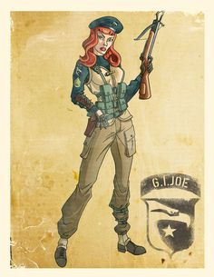 World War II Inspired G.I.Joe and Cobra Art By El Mono Cromático - GI Joe News