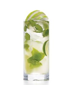 8 Skinny Summer Cocktails Under 200 Calories..  Volito:      1.5 oz Voli Lyte  1/2 of a Fresh Lime  8 Mint Leaves  1 Packet Sweetener  Club Soda  Glass: Highball  Garnish: Mint Sprig    only 85 calories!