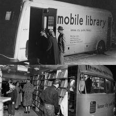 The Kansas City Public Library Bookmobile, circa 1950