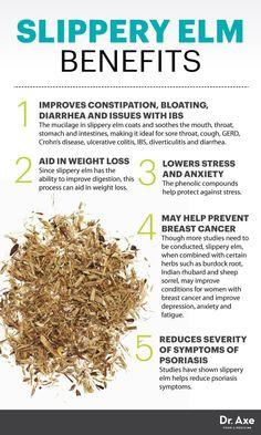 Slippery elm benefits - Dr. Axe