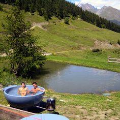 Heerlijk vakantieadres in Italië, Huttentocht