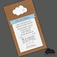 Convite virtual com estilo artesanal para envio por email, whatsapp ou redes sociais.