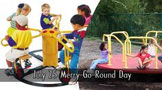 July 25 Merry-Go-Round Day