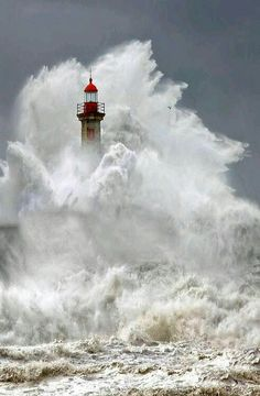 Amazing photography: lighthouse and huge waves, ocean, storm! No Wave, All Nature, Amazing Nature, Amazing Photography, Nature Photography, Storm Photography, Cool Pictures, Cool Photos, Ocean Pictures