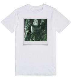 Fallout 4 Buzz Lightyear Polaroid Picture Mashup | T-Shirt | Fallout 4 Buzz Lightyear Polaroid Picture Mashup - Buzz is off to the Commonwealth with his T-60 (Toy-60) Power Armor. You'll be off to the cool club in this sweet mashup shirt, so buy three or four and can give them to your friends as gifts. #toystory #fallout4 #polaroid #buzzlightyear #mashup