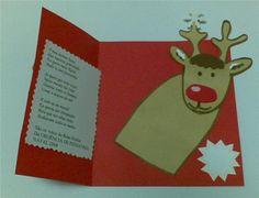 navidad invierno tarjetas ideas para postal preescolar navidad escuela ideas