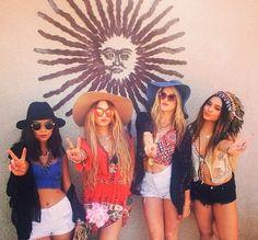 Summertime festival babes x