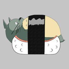 Totoro Sushi Studio Ghibli