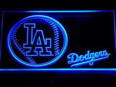 Los Angeles Dodgers Baseball LED Neon Sign