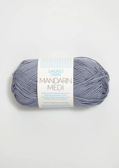 MANDARIN MEDI contains cotton. Soft and delicate cotton yarn suitable for babies, children and adults alike. Meters per ball = 180 Color Card, Baby Knitting Patterns, Delicate, Cotton, Patron Robe, Threading