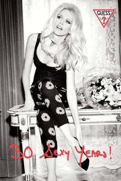 Claudia Schiffer Guess Campaign Pictures And Collection | British Vogue