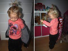 STIL-bloggaren Alexandra Olssons dotter i kläder från Lingon & Blåbär