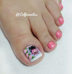 Manicure And Pedicure, Nail Designs, Nails, Beauty, Tatoo, Toenails Painted, Pretty Toe Nails, Simple Toe Nails, Toe Nail Art