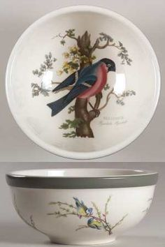 Portmeirion Birds of Britain Salad Bowl 7415442 | eBay