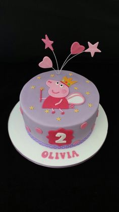 Peppa pig cake More Peppa Pig is often a British toddler super-hero television system string Tortas Peppa Pig, Peppa Pig Cakes, Peppa Pig Birthday Cake, Birthday Kids, Cake Designs, Cupcake Cakes, Cake Decorating, Hero Tv, Pig Party