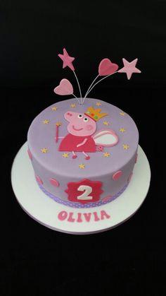 Peppa pig cake                                                                                                                                                      More