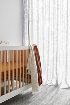 Modern Curtains, Diy Curtains, Sheer Curtains, Black Window Frames, Diy Blinds, Curtain Designs, Nursery Design, Window Coverings, Windows And Doors