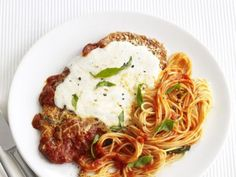 Get this all-star, easy-to-follow Chicken Parmesan recipe from Food Network Kitchen