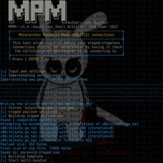 Paranoid Mode - Meterpreter over SSL/TLS connections Leading source of Security Tools, Hacking Tools, CyberSecurity and Network Security ☣Leading source of Security Tools, Hacking Tools, CyberSecurity and Network Security ☣ Security Tools, Computer Security, Security Cameras For Home, Safety And Security, Home Security Systems, Linux, Best Hacking Tools, Home Protection, Home Safety
