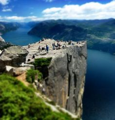 Most Beautiful Places on Earth - Preikestolen Cliff, Norway - Travel Photo Galleries & Photography - Totaltravel