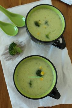 Cooking at Mayflower: Broccoli oats soup