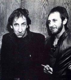 Pete Townshend, John Entwistle