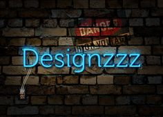 Create an Electrified Neon Text Effect for Wallpaper in Ps