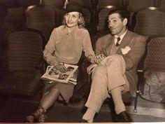 Carole Lombard and Clark Gable