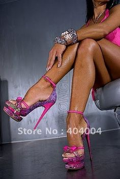 Serious Stripper Shoes ~ worn in past life.