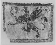 Banner Date: 16th century Culture: Italian Medium: Silk, polychromy