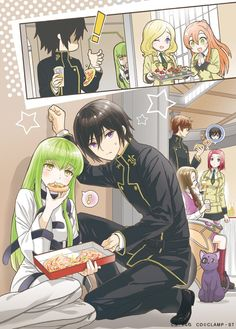 No larger size available - Code Geass Manga Anime, Anime Art, Manga Girl, Anime Girls, Code Geass Wallpaper, Lelouch Vi Britannia, Lelouch Lamperouge, Chef D Oeuvre, Cute Anime Couples