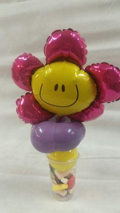 traktatiebeker met roze bloem