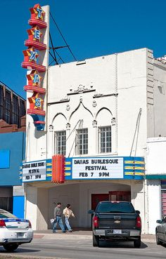 Texas Theater (1931), 231 West Jefferson Boulevard, Oak Cliff, Dallas - This is the theater where Lee Harvey Oswald was arrested on 11/22/1963.