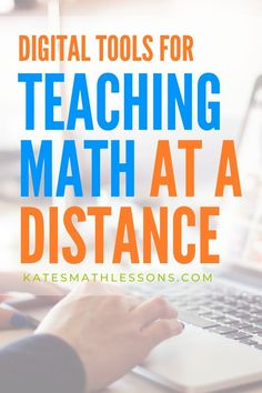 Need some ideas for teaching math remotely?  Check out this round up of digital tools to help middle school and high school math teachers teach and assess in a distance learning environment. Math Teacher, Math Classroom, Teaching Math, Preschool Math, Google Classroom, Classroom Ideas, High School Algebra, Math High Schools, Middle School Maths