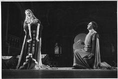 """Renata Tebaldi mit Hans Beirer """" Tannhäuser """"  Neapel 1950"""