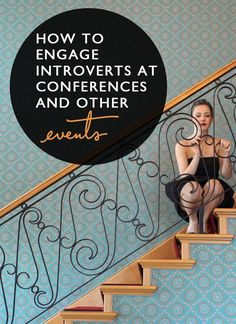 Love this for us #introverts: How to Engage Introverts at Conferences. Post: Event Manager Blog;    Pin design: Me (@byRegina (blogging // business // design)) because I can't help myself.