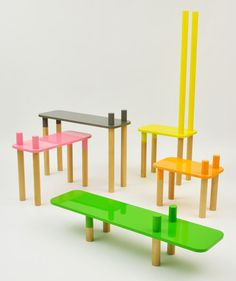 AVÔ Stool and Welcome to the Jungle by Rui Alves
