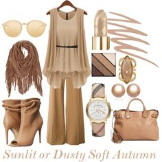 Soft Autumn lights by prettyyourworld on Polyvore featuring STELLA McCARTNEY, Burberry, Henri Bendel, Amour de Pearl, Linda Farrow and Smashbox