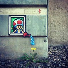 art criativa Street Art Utopia We declare the world as our canvas 87 Perler Bead Collection By Pappas Prlor Perler Beads, Fuse Beads, Melty Bead Patterns, Perler Patterns, Street Art Utopia, Street Art Graffiti, Pixel Art, New York Street Art, Art Perle