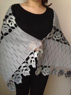 Freeform Crochet, Crochet Shawl, Free Crochet, Crochet Top, Lace Knitting Patterns, Crochet Patterns For Beginners, Easy Crochet Patterns, Crochet Dolls, Crochet Clothes
