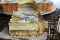 questa Crostata di Ricotta e Marmellata è davvero perfetta, così genuina e sana. Facile da preparare, morbida e con una farcia cremosissima
