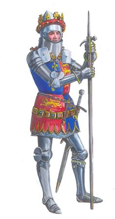 Henry V. Fantasy Rpg, Dark Fantasy, High Middle Ages, Templer, Comic Drawing, Arm Armor, Suit Of Armor, Medieval Armor, Knights Templar