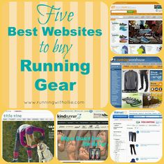 RUNNING WITH OLLIE: Five Best Places to Buy Running Gear Online click through to read
