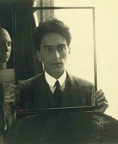 Jean Cocteau by Man Ray, 1922