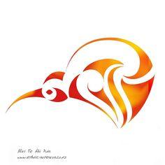 Maori Art - Aotearoa Kiwi | by dragonaotearoa