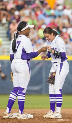 Florida - Women's College World Series - LSUsports. Women's College Softball, Softball Memes, Softball Workouts, Softball Photos, Softball Uniforms, Softball Problems, Softball Crafts, Softball Shirts, Girls Softball
