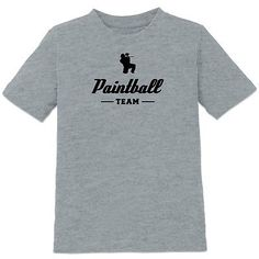 #Paintball team #kids' #t-shirt,  View more on the LINK: http://www.zeppy.io/product/gb/2/152128830792/
