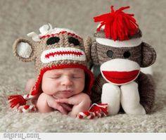sock monkey<3
