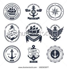 vintage nautical logos - Google Search